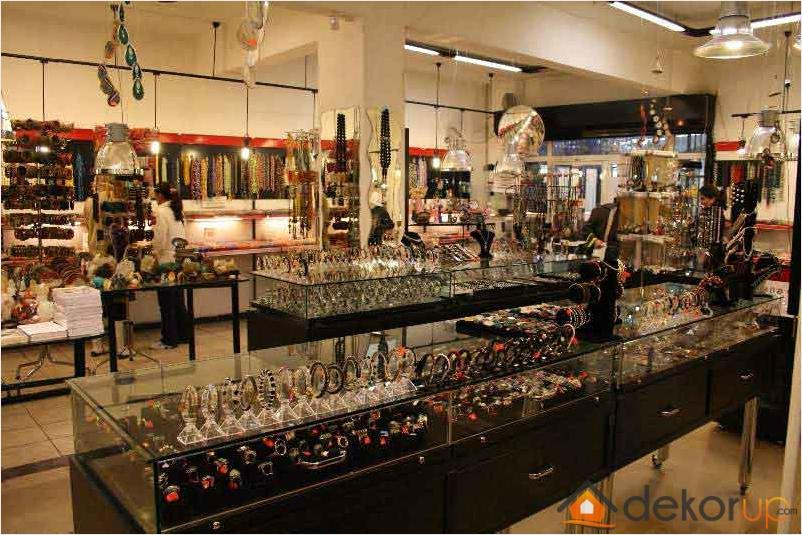 Bijuteri Mağazası Dekorasyonu
