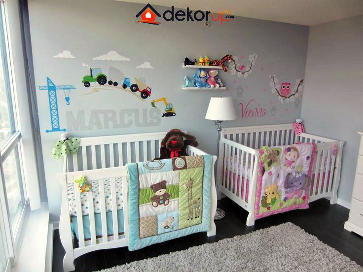 ikiz-bebek-odalari