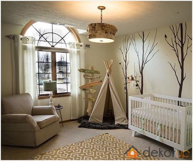 Erkek bebek odası fikirleri