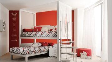 Çocuk Odaları İçin Katlanır Ranza Modelleri
